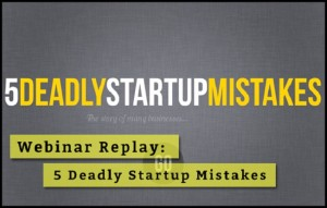 Startup mistakes for first year